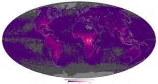 Brûsk, herî zêde li herêma Ekvatorê dikevin. [Wêne: NASA]